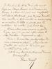 """1 Lettre autographe signée, à en-tête de Et. Carjat & Cie, datée de Veules, le 8 septembre 1884 : """"Cher Ami, Je t'écris à la hâte de ce charmant pays ..."""
