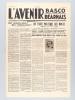 L'Avenir Basco Béarnais. Première Année - Numéro 1 - Décembre 1934 [ Edition originale ]. Collectif