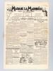 Madame la Marquise tout va très bien. Journal hebdomadaire, humoristique et satirique. Première Année. N° 1 du mercredi 24 juin 1936 et n° 2 du 1er ...