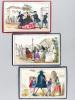 Jeu du Cheval Blanc - Juego del Cavalo Blanco [ les 6 planches dont 5 lithographiées en couleurs seules ]. Collectif ; BOMMIER