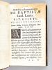 Emblemata V. Cl. Andreae Alciati  cu. Imaginibus plerisque restitutis ad mentem Auctoris. Adiecta compendiosa explicatione Claudij Minois ...