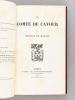 Le comte de Cavour.. MAZADE, Charles de