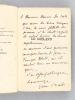 Le Goéland [ Edition originale - Livre dédicacé par l'auteur ]. BALDE, Jean ; [ ALLEMAN, Jeanne ]