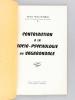 Contribution à la socio-psychologie du Vagabondage [ Edition originale ]. SUFFRAN, Michel