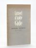 La Mort d'André Gide [ Edition originale - Livre dédicacé par l'auteur ]. MAURIAC, François