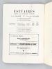 Estuaires. Cahiers de littératures et d'Art. Numéro 1. Mai - Juin 1946 [ Edition originale ]. Collectif ; RIVIERE, Claude ;  GABRIEL, Pierre ; LACOTE, ...