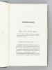 Etudes de Médecine et d'Hygiène publique [ Edition originale ]. LEVIEUX, Dr. [ LEVIEUX, Charles (1818-1898) ]