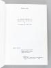 Les éditions illustrées de François Mauriac et la Bibliophilie au XXe siècle [ Livre dédicacé par l'auteur ]. LE PIVAIN, Hélène