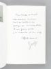 [ Lot de 4 ouvrages dédicacés par l'auteur ] Villa della Maschera - Treize jours à Bolgatty - Objizdika ou le Privilège - Presqu'il. Poèmes en prose. ...