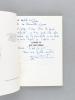 [ Lot de 7 ouvrages dont 6 dédicacés, avec 7 lettres autographes signées ] A la guerre comme à la guerre [ Avec une carte autographe signée : ]  [ ...