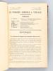 Le Progrès Agricole et Viticole. Revue d'Agriculture et de Viticulture. 11e Année - Tome XXII. 2me Semestre 1894. DEGRULLY, L.