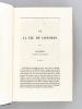 Revue de Paris (2 Volumes de recueils d'articles vers 1830-1831-1832-1833) Volume I [ Contient notamment : ] La Vie de Londres ; Le croup par Léon ...