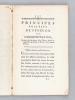 Principes Positifs de Fénélon et de M. Necker sur l'Administration [ Edition originale ] Extraits des directions d'un Prince, placés en regard des ...