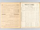 Renseignements techniques N° 4.34 A 4.34 1 Facture à Arcachon Mai 1960 [ Avec : ] Fascicule-Horaires N° 4.34 A Horaires. Orléans - Tours. Service du ...