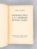 Introduction à la Méthode de Paul Valéry [ Livre dédicacé par l'auteur ]. MAUROIS, André