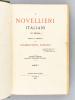 I Novellieri Italiani in Prosa (Parte I e II) [ Livre dédicacé par l'auteur ]. PASSANO, Giambattista