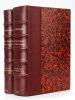 Histoire littéraire du Peuple Anglais (2 Tomes - Complet ) Tome I : Des origines à la Renaissance ; Tome II : De la Renaissance à la Guerre Civile. [ ...