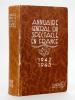 Annuaire Général du Spectacle en France. 1942 - 1943. Comité d'Organisation des Entreprises de Spectacles ; Collectif