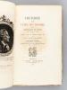 Histoire de ma Fuite des Prisons de la République de Venise qu'on appelle Les Plombs.. CASANOVA DE SEINGALT, Jacques
