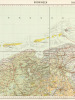 Groningen. Bl. 1 Chromo-Typografische Kaart van het Koninkrijk der Nederelanden 1 : 200.000 Sonderausgabe ! Nur für Dienstgebrauch ! [ German military ...