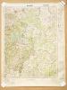 Malmedy 1 : 100.000 Sonderausgabe ! Nur für Dienstgebrauch ! Karte von Belgien Blatt X [ German military map - Aix-la-Chapelle ; Montjoie ; Malmedy ] ...