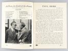 La Revue des Sports et du Monde Matford. 1er Janvier 1936. Collectif ; IRIBE, Atelier Paul ; TITAYNA ; CHANEL, Gabrielle ; GIRAUDOUX, Jean ; ...