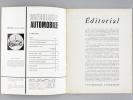 L'Anthologie automobile. Revue bimestrielle (Lot de 11 numéros : N° 15, 18, 19, 20, 21, 22, 23, 24, 25, 30, 32, 33) N° 15 : Janvier-Février 1971 ; 18 ...