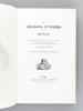 Les Oraisons Funèbres de Bossuet. Suivies du Sermon pour la Profession de Mme de La Vallière, du Panégyrique de Saint Paul et de Sermon sur la ...