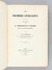 Les Premières Civilisations. Etudes sur la Préhistoire et l'Histoire jusqu'à la fin de l'Empire macédonien. MORGAN, Jacques de