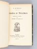 Pensées et Maximes, recueillies et classées par J. Barbey d'Aurevilly. BALZAC, Honoré de ; (BARBEY D'AUREVILLY, Jules )