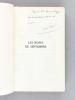 Les Roses de Septembre [ Edition originale - Livre dédicacé par l'auteur ]. MAUROIS, André