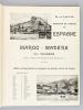 XLIe Croisière de la Revue Générale des Sciences. Espagne - Maroc - Madère Du 4 mars au 25 avril 1909. Vacances de Pâques.. Revue Générale des ...