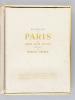 Splendeur de Paris [ Edition originale - Livre dédicacé par l'auteur, avec 20 héliogravures toutes signées par Laure Albin-Guillot]. ALBIN-GUILLOT, ...