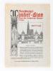 Strassburger Münster-Blatt. Organ des Strassburger Münster-Vereins ( Jahrgang I bis V : . 1903 -1908) [ Ensemble des 5 Premiers numéros ] N° 1 année ...