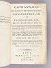 Dictionnaire portatif et de prononciation, Espagnol - Français et Français - Espagnol, à l'usage des deux nations. Diccionario portatil y de ...