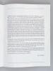 """Thierry Le Luron Marigny 83 [ Programme dédicacé par Thierry le Luron ] """"De de Gaulle à Mitterrand"""". LE LURON, Thierry"""