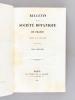 Bulletin de la Société Botanique de France. Tome Cinquième [ Année 1858 ]. Collectif ; BRONGNIART, Adolphe ; CASPARY ; CHATIN ; COSSON ; FOURNIER, ...