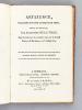 Artaxerce, Tragédie en cinq actes et en vers, imité de Métastase. Représentée pour la première fois sur le Grand Théâtre de Bordeaux, le 3 juillet ...