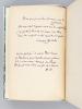 Outre-Fortifs (Impressions de Banlieue) [ Edition originale - Exemplaire dédicacé par l'auteur - Un des 10 exemplaires sur  Japon accompagné ...