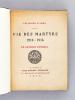 Vie des Martyrs 1914-1916 [ Exemplaire sur papier Japon ]. DUHAMEL, Georges ; ( LEBEDEFF Jean )