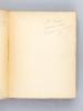 La Saint-Huberty d'après sa Correspondance et ses Papiers de Famille [ Livre dédicacé par l'auteur ]. GONCOURT, Edmond de
