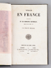 Voyages en France. Description de ses Curiosités naturelles. DELATTRE, Charles