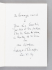 Par le Don de Florence Gould [ Livre dédicacé par l'auteur - Avec 3 cartes autographes de Florence Gould ]. CHAPON, François ; AURY, Dominique ; ...