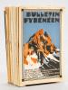 Bulletin Pyrénéen (Lot de 21 numéros du n° 204 de avril-mai-juin 1932 au n° 227 de janvier-février-mars 1938) Numéros 204 ; 205 ; 206 ; 207 ; 208 ; ...