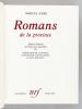 Romans de la Province. AYME, Marcel