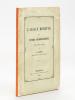 L'Alsace Romaine. Etudes archéologiques avec deux cartes [ Edition originale ]. COSTE, A.