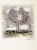 Carte de Voeux pour 1982. Epreuve d'artiste. LOUTTRE B