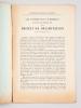 La Délimitation des Vins de la Gironde. Extraits des Séances des 12, 24, 31 mai et 14 juin 1911 [ Edition originale ] [ Avec : ] Les Conséquences ...