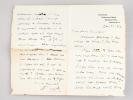 "4 autograph letters signed by Abdullah Yusuf Ali, to ""Khourshed"" [ ""Khourshed de Ravalieu"", Raden Ayou Jodjana born Elisabeth Pop ], mostly about ..."