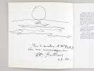 Hommage à Sarthou. Soulac sur Mer du 5 Juillet au 15 octobre 1987 [  Livre dédicacé par Sarthou avec dessin original de l'artiste ]. SARTHOU